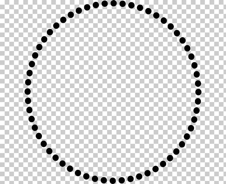 Circled dot , dotted circle PNG clipart.