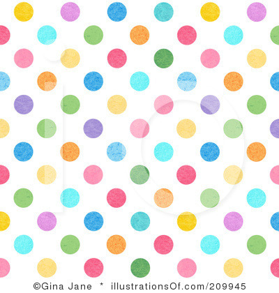 Dotted background clipart.