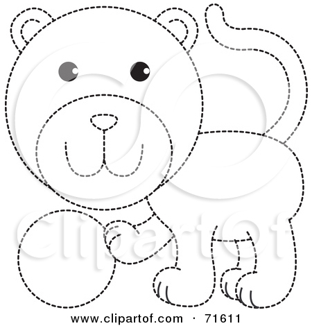 Dotted clipart.