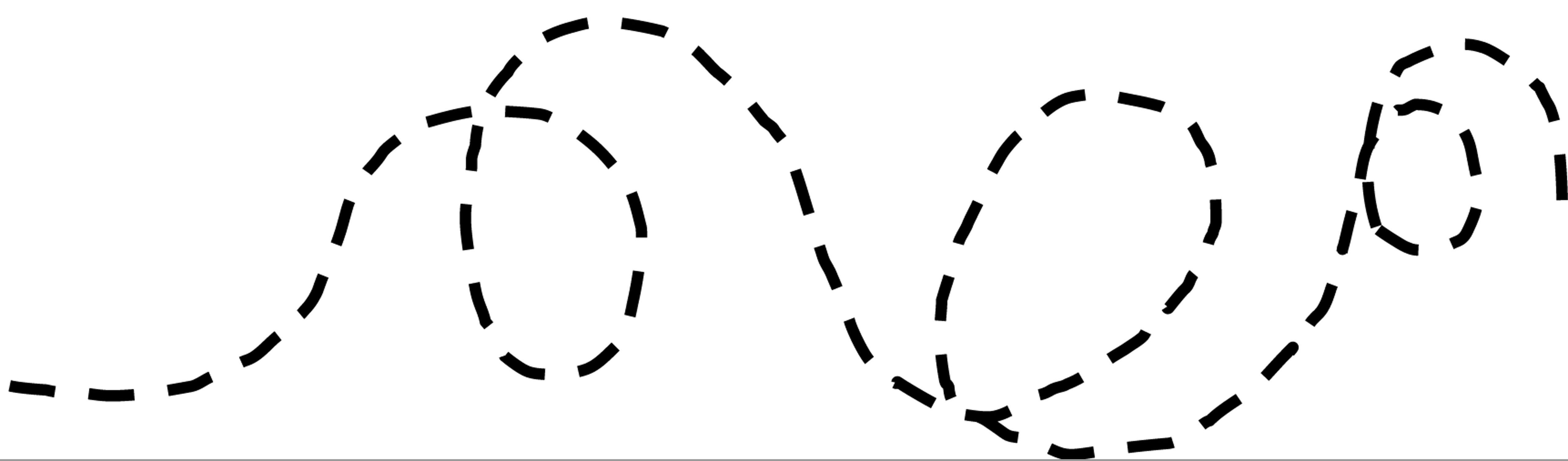 Clipart dotted line.