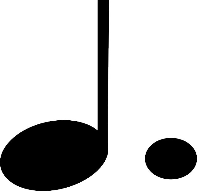 Free vector graphic: Dotted Note, Lengthen, Note, Music.