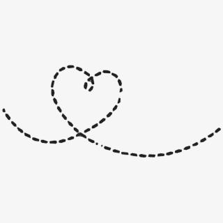 dottedline #heart.