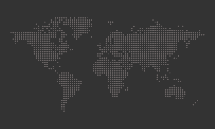 Free Dotted World Map vector file for free.