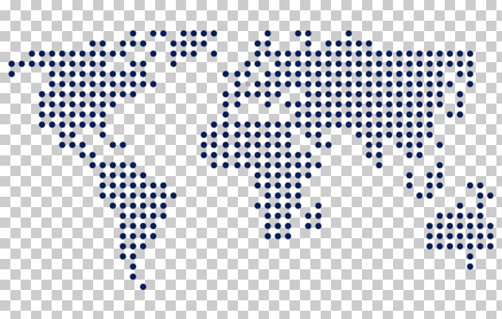 World map Dot distribution map Map, world map PNG clipart.