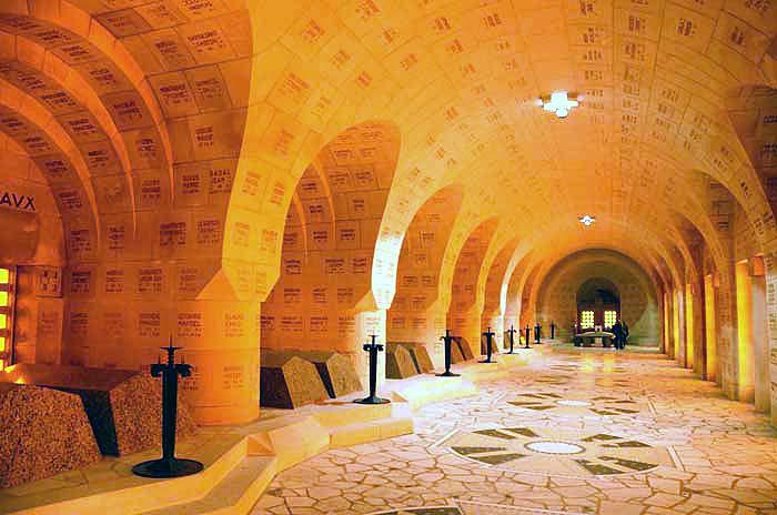 Douaumont Ossuary France.