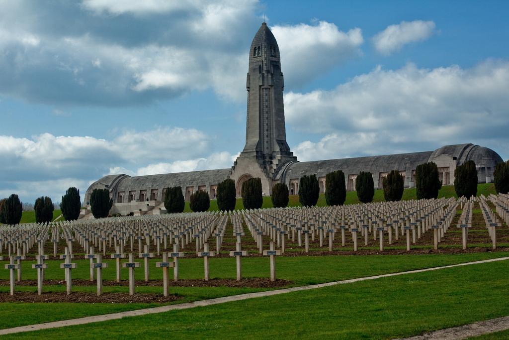 Douaumont ossuary.