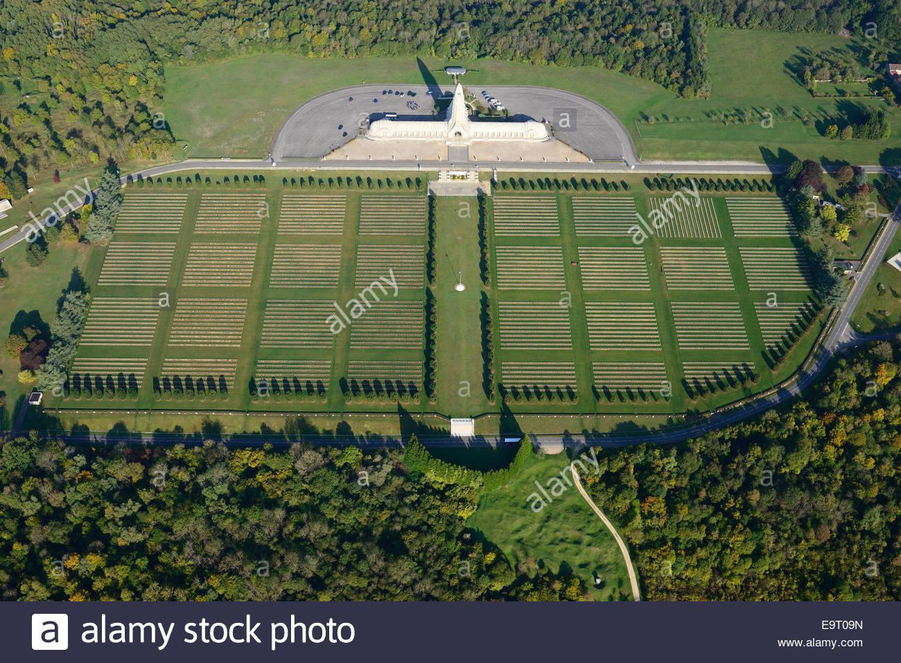 Douaumont Ossuary & Cemetery (aerial View). Ww1 Cemetery Near.