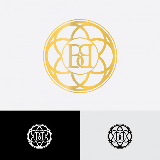 Double b vintage logo Vector.