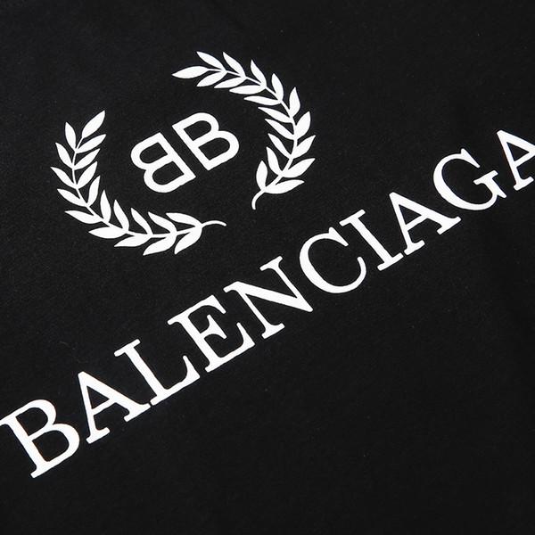 19SS Mens Designer T Shirts Double B Letter Print Designer Shirt Shorts  Casual Sleeve Brand Logo Womens Shirt Original T Shirts T Shirts With  Sayings.