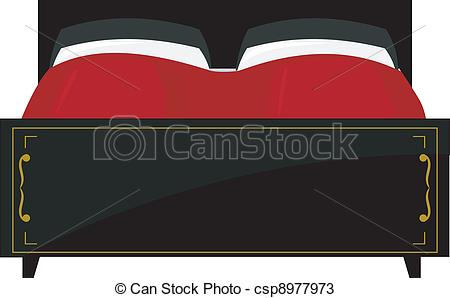 Double bed Vector Clipart Royalty Free. 1,121 Double bed clip art.