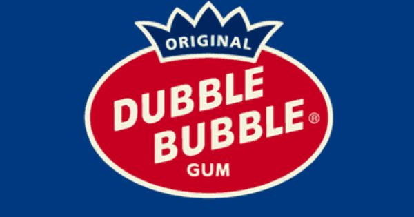 In dubble bubble the font itself is simple but the spelling.