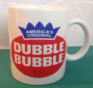 Details about Americas Original Dubble Bubble Gum Logo Vintage Retro Coffee  Mug.