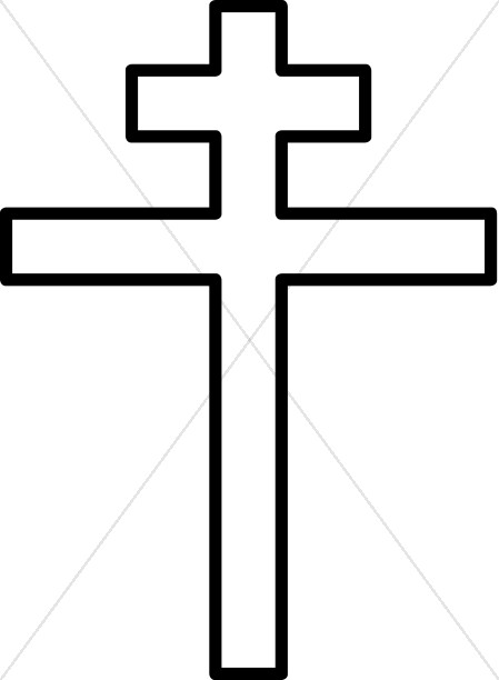 Black and White Double Cross.