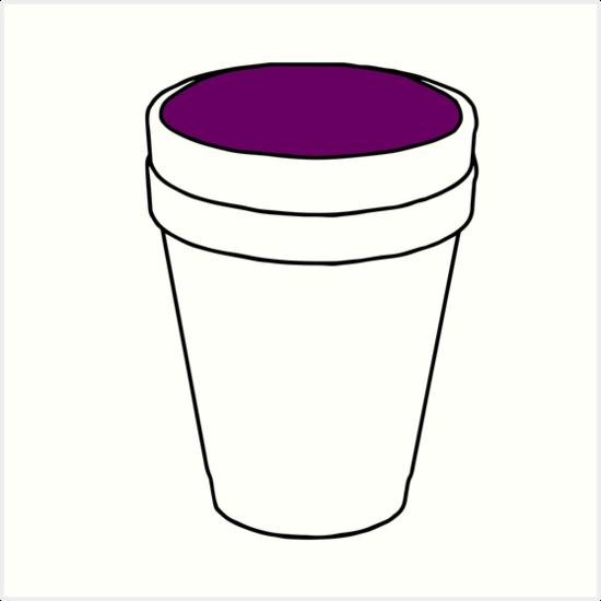 Lean Cup Clipart.
