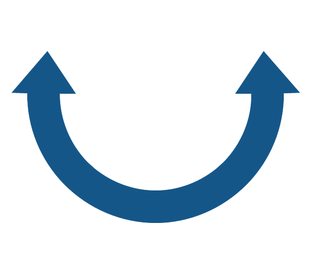Circular Arrows Diagrams.