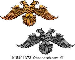 Double eagle Clipart EPS Images. 73 double eagle clip art vector.