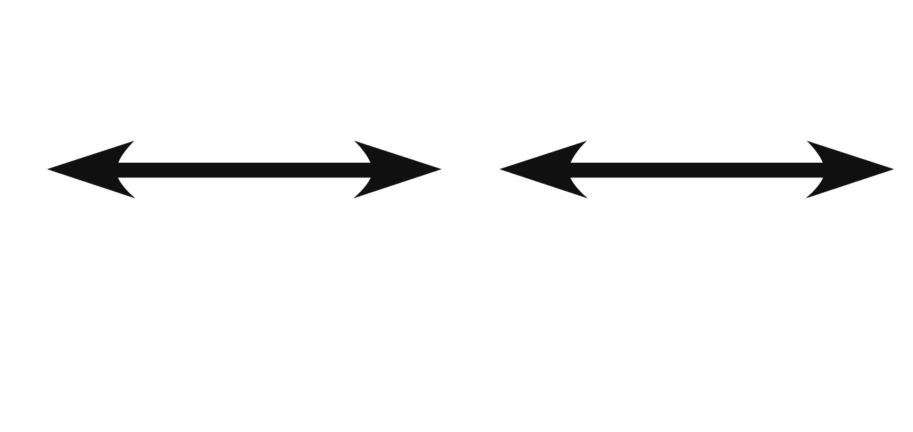 Illustrator: create four double sided arrows to form a.