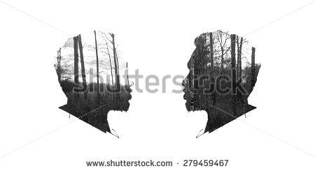 Double Exposure Stock Vectors, Images & Vector Art.