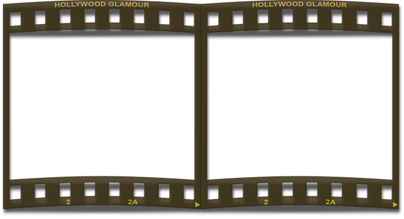 Film Strip Frame Double Png By Silenciod #264330.