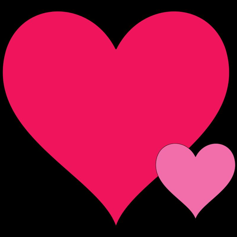 Double Heart Clipart.