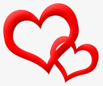 Double Heart Png Icon Transparent.