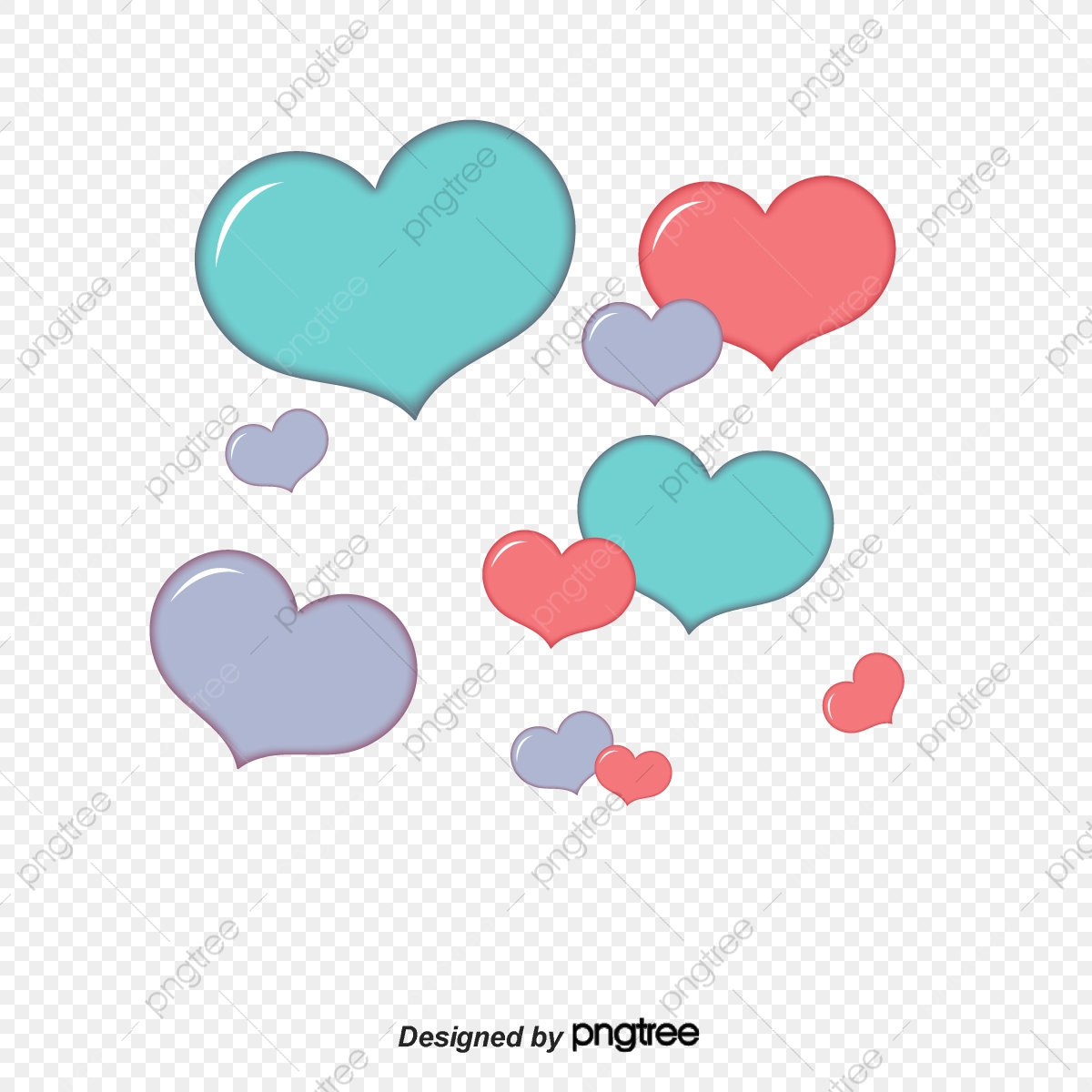 A Double Headed Frame, Frame Clipart, Two Hearts, An Arrow PNG.