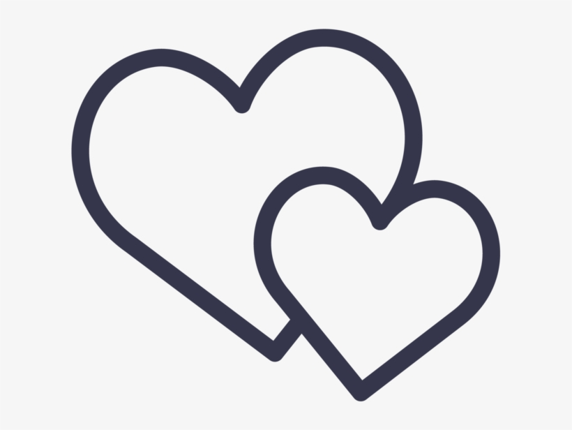 Royalty Free Stock Friends Svg Heart.