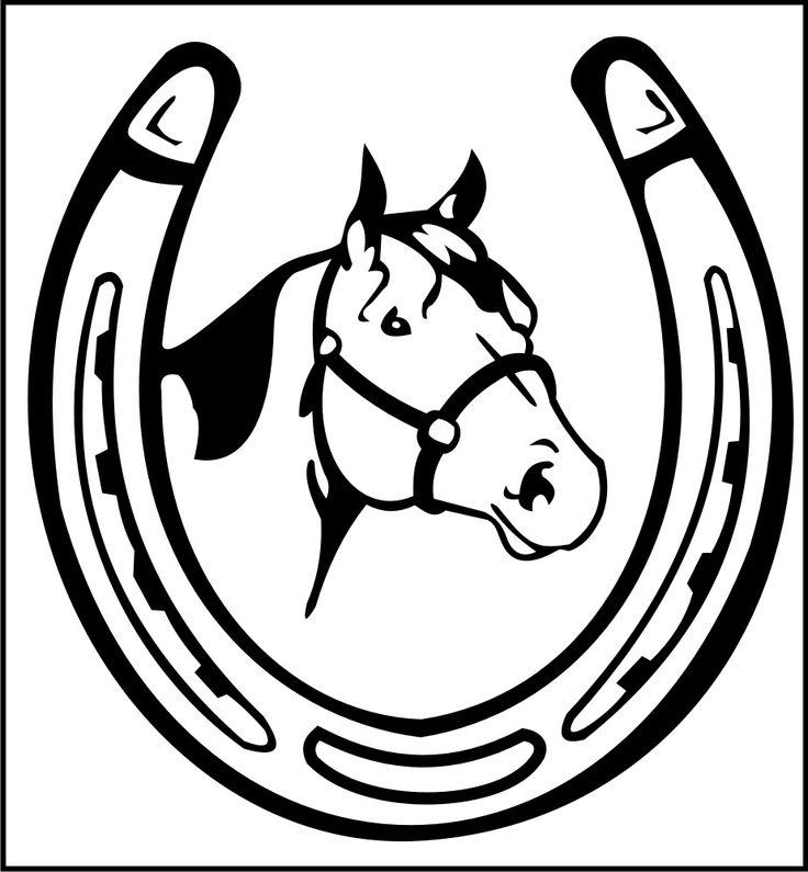 Double Horseshoe Clipart.