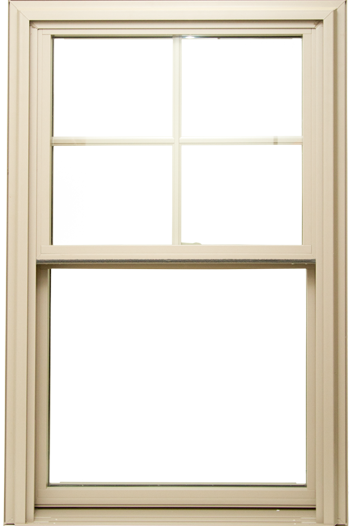 Provia Aspect double hung replacement window.