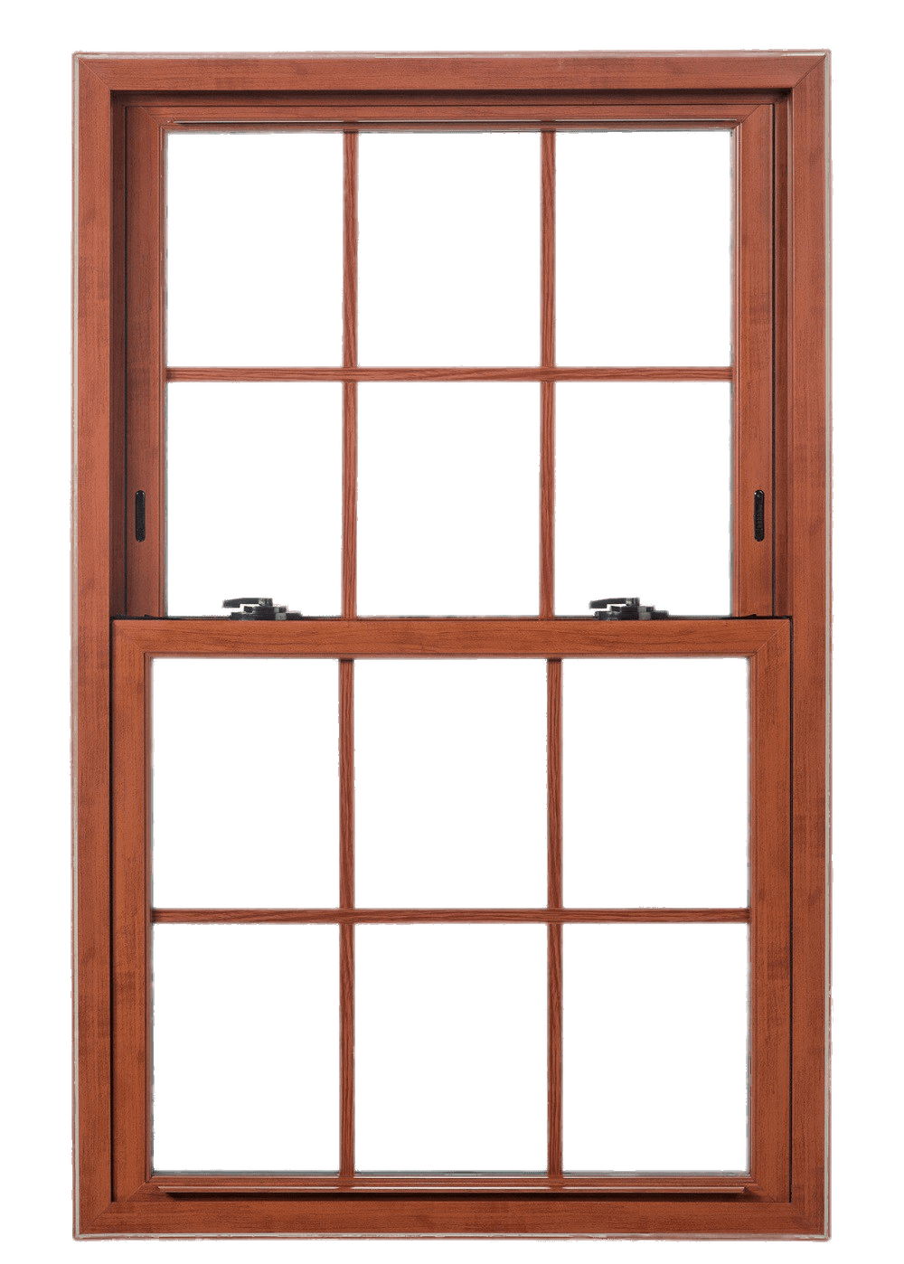Double Hung Wooden Sash Window transparent PNG.