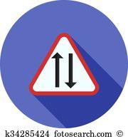Double lane Clipart Vector Graphics. 12 double lane EPS clip art.