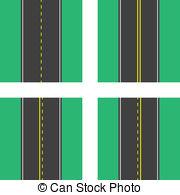 Double lane Vector Clipart Royalty Free. 14 Double lane clip art.