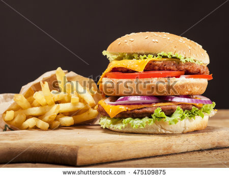 Double Patties Stock Photos, Royalty.