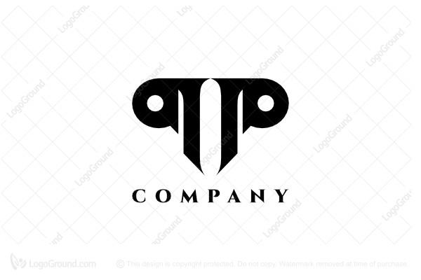 Exclusive Logo 94512, Letter P Logo.