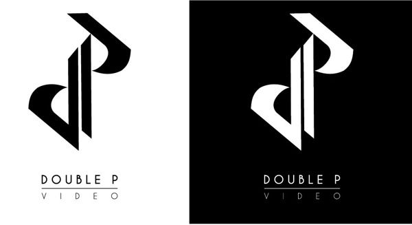 Double P LOGO by Michal Ruchel, via Behance.