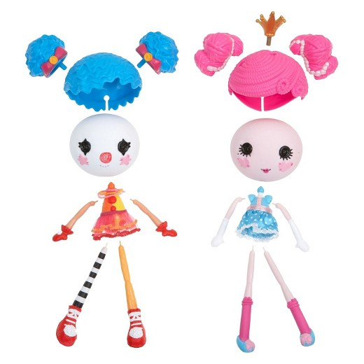 Lalaloopsy Workshop Princess/ Clown Double Pack : Target.