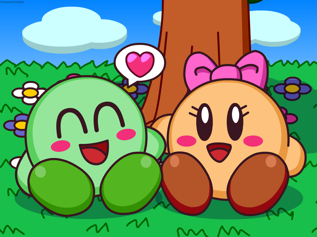 Double Pack Kirbys in Couple Loves by Kittykun123 on DeviantArt.