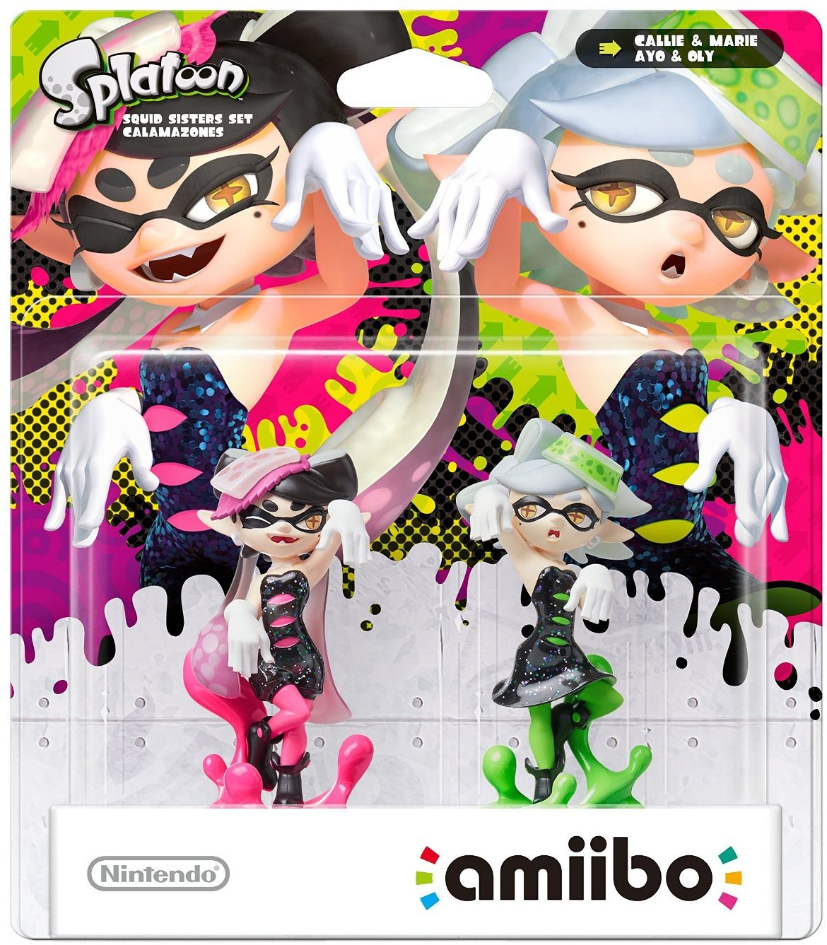 Amiibo Splatoon Callie + Marie Double Pack, Nintendo Switch, Wii U.