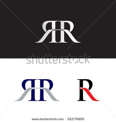Initials with double R.