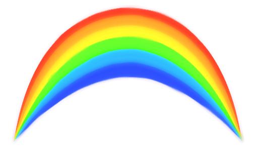 Rainbow Clip Art Transparent Background.