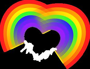 Double Rainbow Clipart.