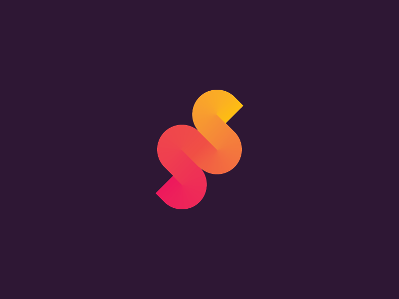 Double S Logo by Yuser Kabani on Dribbble.