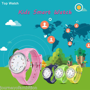 Top Watch Kids Smart Watch GPS LBS Double Location Safe Tracker.