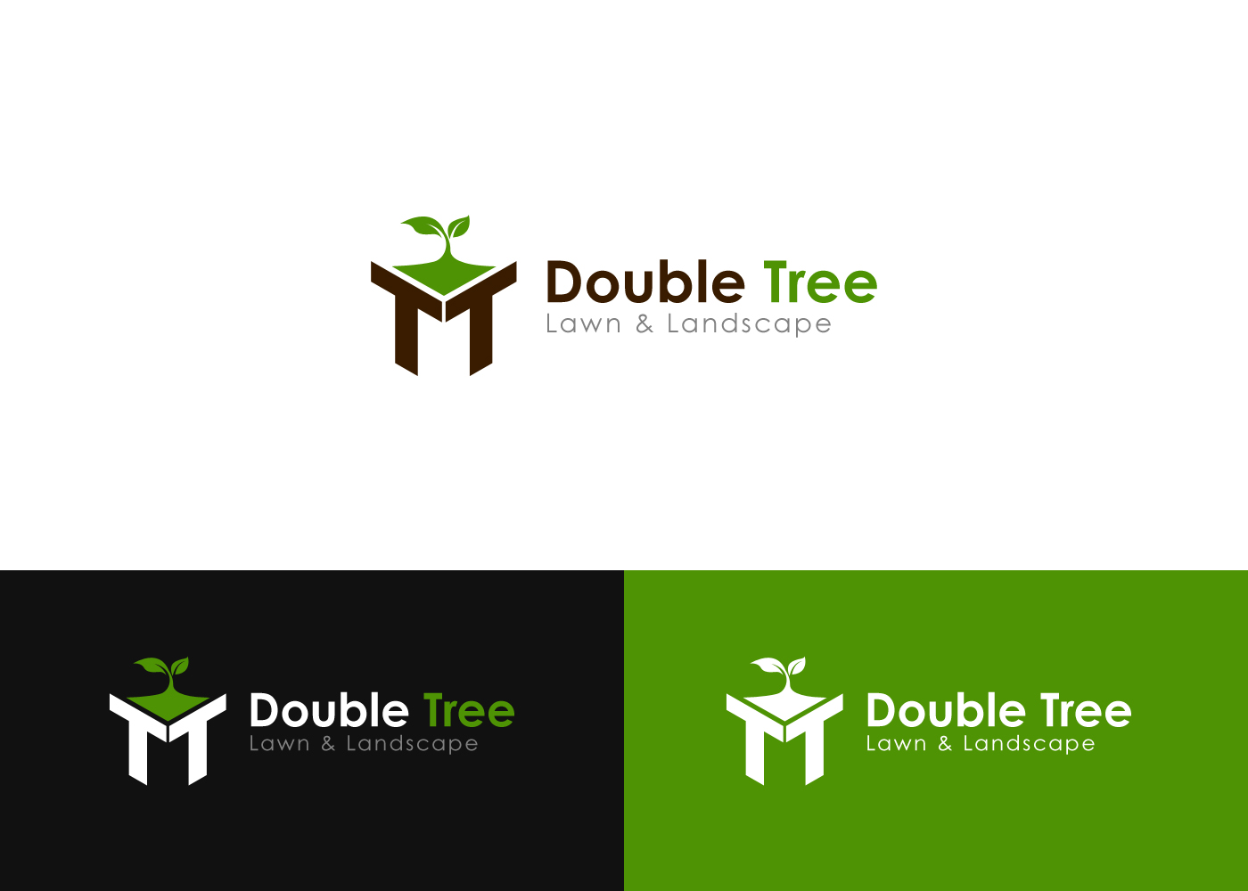 Elegant, Playful, It Company Logo Design for Double Tree.