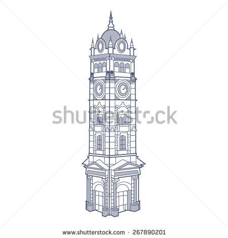 Clock Tower Stock Vectors, Images & Vector Art.