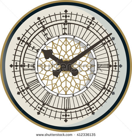 Double Face Clock Tower Clipart Clipground