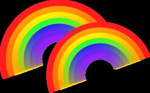 Double Rainbow Clip Art at Clker.com.