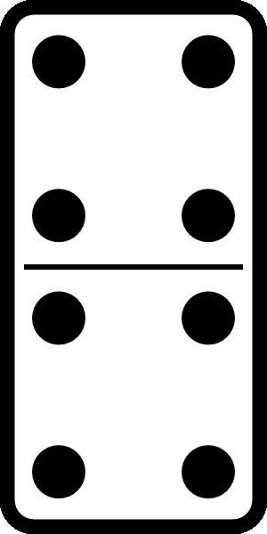 Domino Set 21 Clip Art at Clker.com.