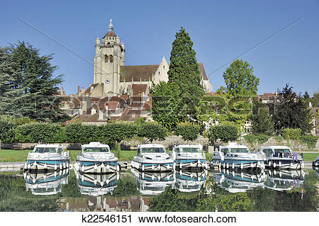Stock Photography of Dole and the Doubs River k22546151.