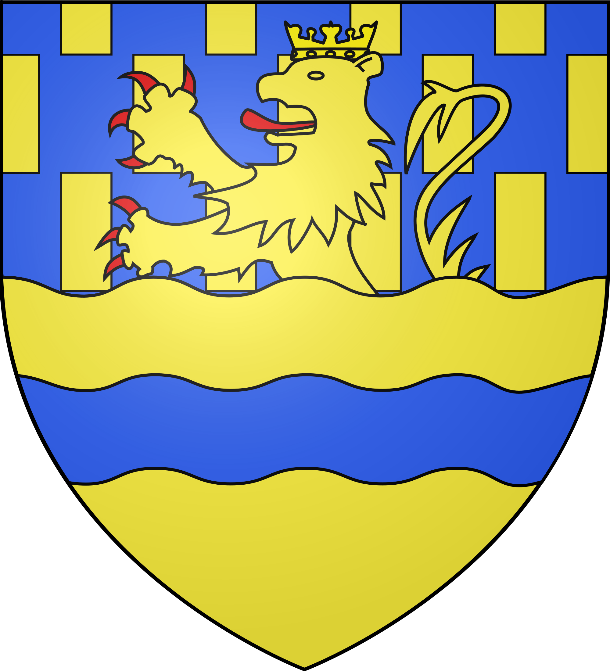 File:Blason département fr Doubs.svg.